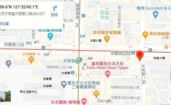 文湖線「大安駅」徒歩3分 15,000台湾ドル/月【物件番号:3DA698】 15,000台湾ドル/月
